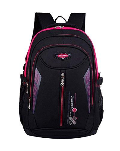 Imagen de  escolar impermeable  bolsa escolar casual  de colegio rose