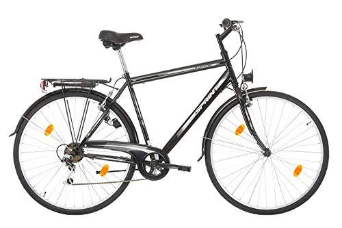 SPRINT 28 Zoll Spint Maverick City Fahrrad Urban Cityräd für Herren Shimano 7 Gang