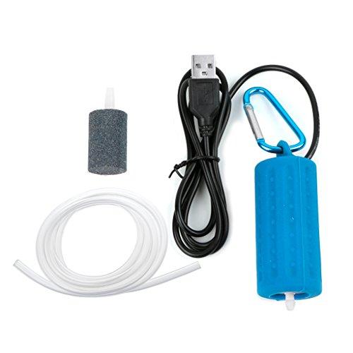 Planeuik - Mini compresor portátil USB Acuario Bomba