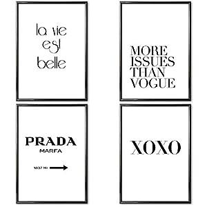 Poster Schwarz Weiss Mit Rahmen Dein Haushalts Shop