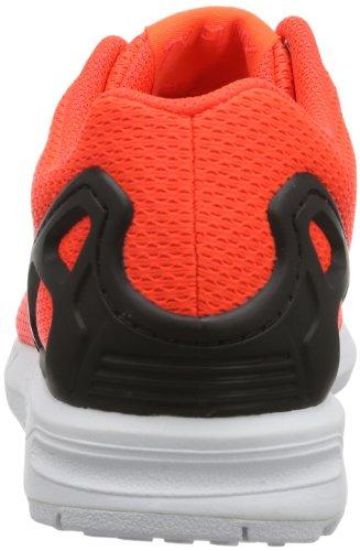adidas Zx Flux, Baskets mode mixte adulte Rouge