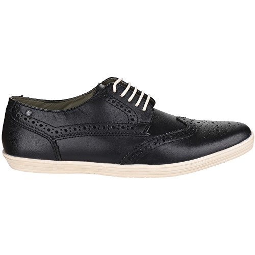 Base London Mens Perform Lace up Casual Leather Shoes