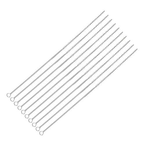 sourcing map 10Stk.15mm Dia Dreh Griff Borsten Test Rohr Schlauch Reinigung Pinsel Nylon DE de