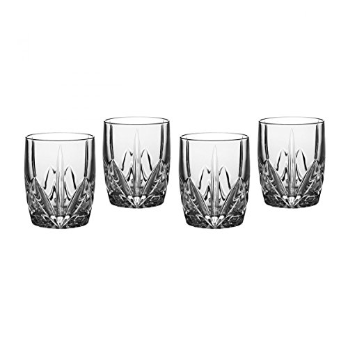 Marquis by Waterford Brookside 12-Ounce Double Old Fashion Glasses Set of 4 by Marquis By Waterford 12 Oz Double Old Fashion