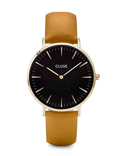CLUSE-Damen-WatchesUhren-La-Boheme-Gold