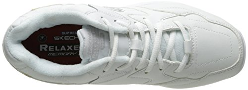 Skechers For Work 76555 Albie ample Walking Shoe white