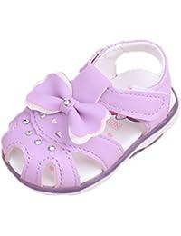 Chaussures Ennellemoo rose fushia Casual pour bébé