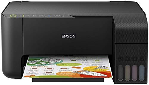 Epson EcoTank ET-2710 nachfüllbares 3-in-1 Tintenstrahl Multifunktionsgerät (Kopierer, Scanner, Drucker, DIN A4, WiFi, USB 2.0), großer Tintentank, hohe Reichweite, niedrige Seitenkosten