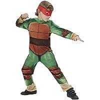 Tortugas Ninja - Disfraz Tortugas Ninja 2, classic infantil, talla M (Rubie's Spain 610525-M)