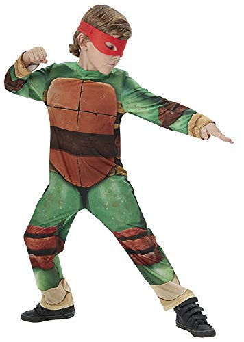 Teenage Mutant Ninja Turtle (Classic) - Kids Licensed Costume - New Design 2015 5 - 6 (Kostüm Mutant Ninja Teenage Turtle)