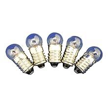 Ajax Scientific miniature lampadina, 2.5 V, 0.50 Amp (confezione da 10)