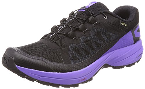 Salomon XA Elevate Gore-Tex Womens Scarpe da Trail Corsa - SS18 Black