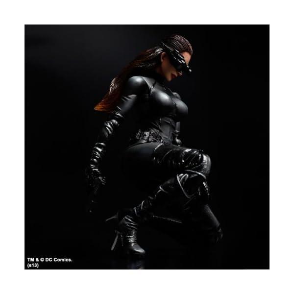Batman Play Arts - Figura de acción de Catwoman del Caballero Oscuro 3