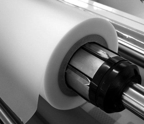 POV® Rollenlaminierfolie glänzend, 1000 mm breit, 100 m lang, 75 mic, Kern 76mm, Verpackungseinheit: 1 Rolle