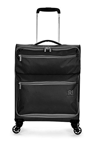 Revelation Weightless D4 C1 4W Std Cabin Spinner Black Maleta, 55 cm, 33 liters, Negro (Black)