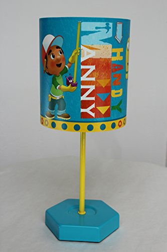Reflektor Satin (§ § Disney Meister Mannys Nachttischlampe für Kinder. Glühlampe LED 12V & Adapter = Hohe Sicherheit)