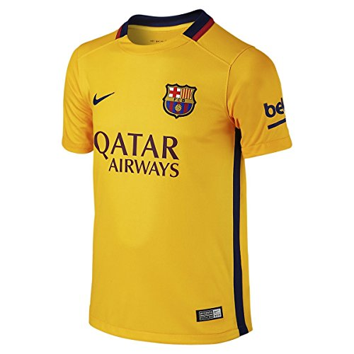 2ème équipement FC Barcelone 2015/2016 – Maillot officiel Nike pour enfant