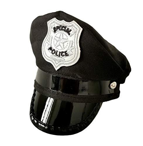 PET SHOW Hut für kleine und mittelgroße Hunde, Katzen, Party, Halloween, Fellpflege-Zubehör, Foto-Requisiten für Haustiere, Welpen, Hunde, Kätzchen, 1 Stück, schwarz