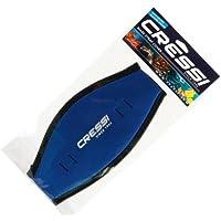Cressi Sub Neoprene Comfort Mask Strap Cover - Blue