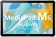 "HUAWEI MediaPad M6 - Tablet 10.8"" con pantalla 2K de 2560 x 1600 IPS (Wifi, RAM de 4GB, ROM de 64GB, Kiri"