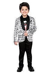 AJ Dezines Kids Party Wear Coat Suit Set For Boys (696_WHITE_7)