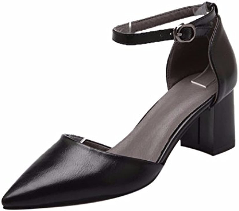 YUCH YUCH YUCH Simple Dames D'Été Chaussures Sharp, Baotou Chaussures de TravailB07CP91V7LParent | Online Shop  460d88