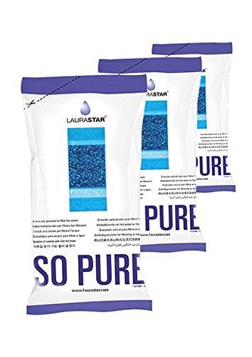 Laurastar Entmineralisierungsgranulat für Laurastar Bügelsystem Wasserfilter 3er Pack Wasser-filter Refills