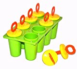 #5: MK MasterCool Ice Candy Kulfi maker Popsicle Mould set of 8 (Available Color Will Be Sent)