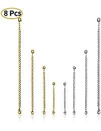 a3974bcc9af1 Amazon.es  Cadenas de oro - Piezas de repuesto   Accesorios  Joyería