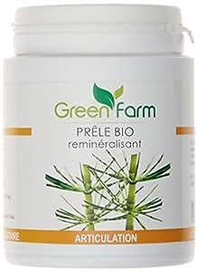Green Farm - Prêle Bio - Reminéralisant - Articulation - 120 Gélules