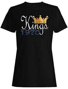El rey nace en 1970 camiseta de las mujeres b906f