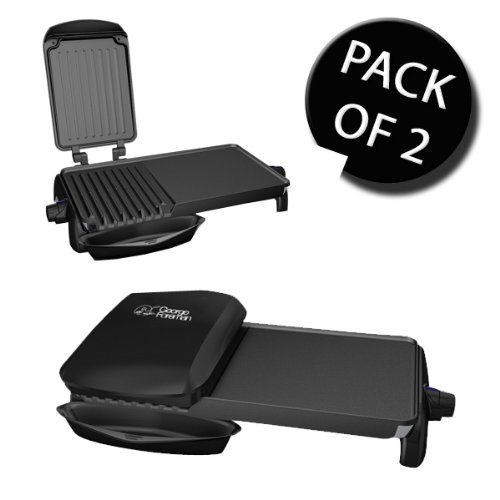 2x-george-foreman-18603-family-grill-griddle-2-in1