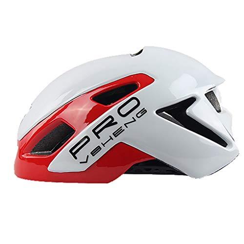 casque Fahrradhelm mit integrierter Fahrradausrüstung für Mountainbike, Männer und Frauen, Radmütze, 4, one Size