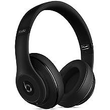 Apple Beats Studio MHAJ2 - Auriculares Inalámbrico de Diadema cerrado (Bluetooth, con micrófono, control remoto integrado) negro mate
