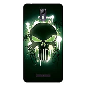 GripIt Glowing Skull Case for Micromax Canvas Evok