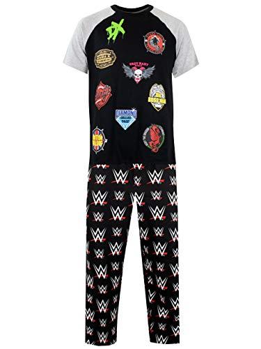 WWE Herren Schlafanzug Mehrfarbig Large -