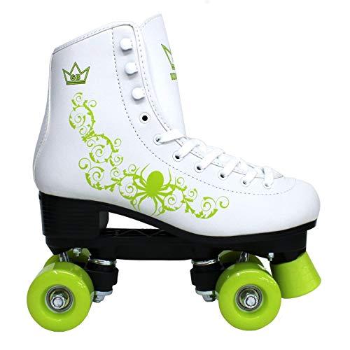 Kingdom GB Vector Pattini a rotelle a Quattro Ruote Roller Bambini Verda Taglia EU 30