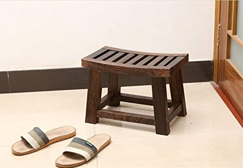 Chfei sgabello piccolo panca in legno sgabello quadrato in legno