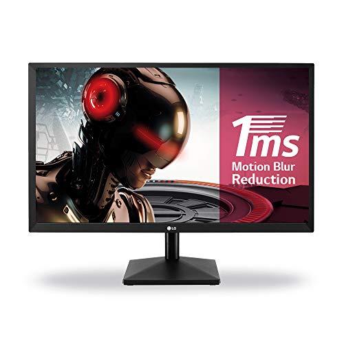 """LG 24MK400H-B. Diagonal de la pantalla: 60,5 cm (23.8""""), Resolución de la pantalla: 1920 x 1080 Pixeles, Tipo HD: Full HD, Tecnología de visualización: LED, Tiempo de respuesta: 2 ms, Relación de aspecto nativa: 16:9, Ángulo de visión, horizontal: 17..."""