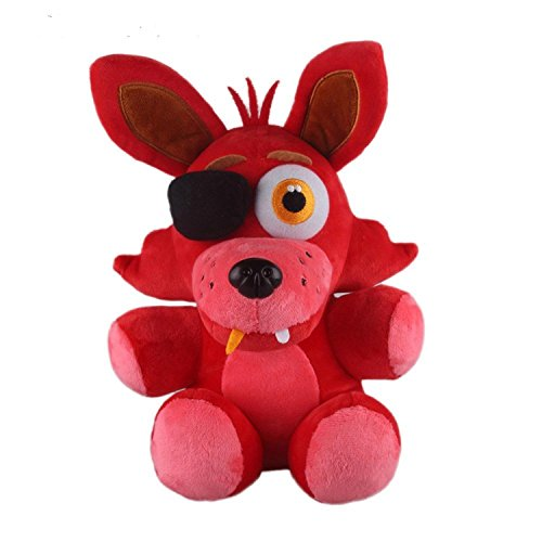 New Arrival Fnaf Foxy Fox Plush Soft Toy Doll For Kids Neue Ankunft Foxy Fox Plüsch Stofftier Puppe Für Kinder