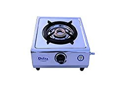 Delta Stainless Steel Single Burner Gas Stove 1003