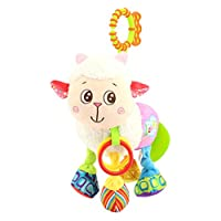 joizo Smooth Toy Baby Car Seat Stroller Baby Cot Cradle Hanging Toy Musical Pendant (sheep)