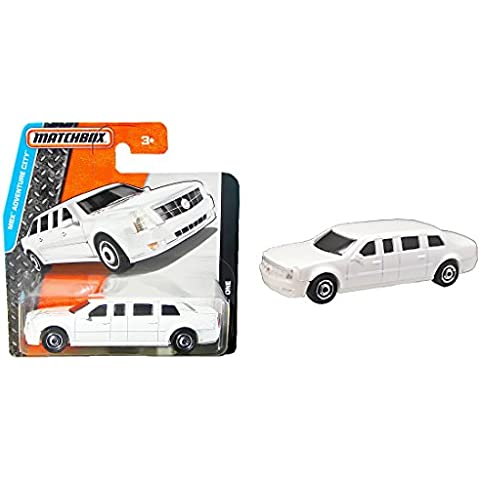 Matchbox Cadillac One White - Stretch-Limo - MBX Adventure City