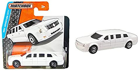 Matchbox Cadillac One Weiß - Stretchlimousine Limo - MBX Adventure City