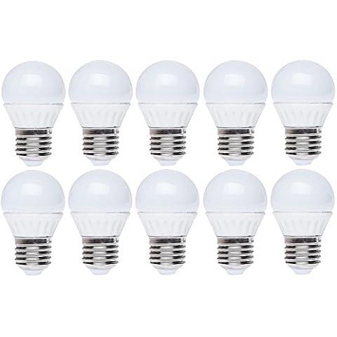 panderlights Set da 10pezzi–lampadina LED E276W 520LM