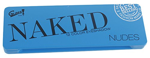 Gloss!  Palette de Maquillage Naked Nudes, Coffret Cadeau-Coffret Maquillage
