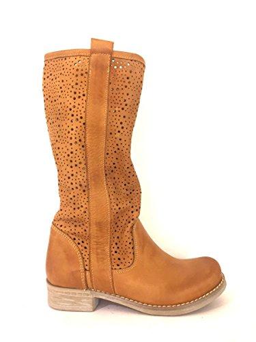 zeta-shoes-botas-de-piel-para-mujer-marron-size-40