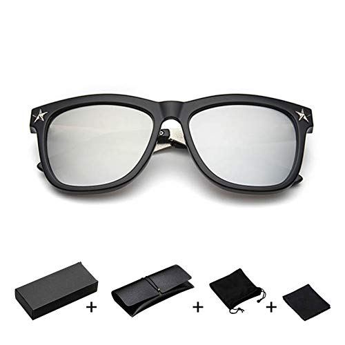 TDPYT Sonnenbrillen Herren Unisex Sonnenbrillen Fahren Brillen Normalglas Brillen Uv400 Brillen Brillen Zubehör Platz