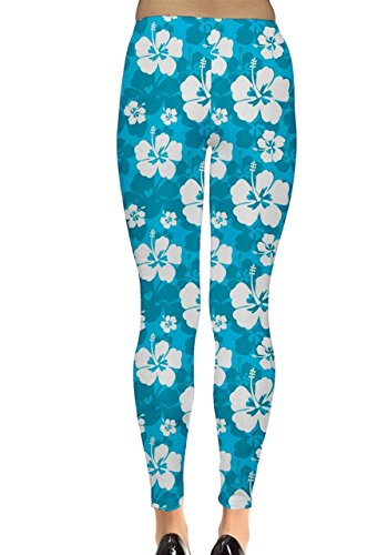 CowCow - Legging - Femme Blue Magic Bleu - Bleu ciel