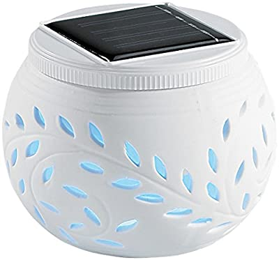 PEARL Solar-Dekoleuchten mit Farbwechsel-LED, 2er-Set von PEARL - Lampenhans.de